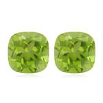 1.25-1.37 Cts of 5 mm AAA Peridot (2 pcs ) Loose Gemstones