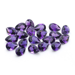 11.58 Cts of AA 7x5 mm Pear Amethysts ( 20 pcs ) Loose Gemstone