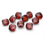 7.75-8.20 Cts 5 mm AAA Cush Check Mozambique Garnet 10 pcs Loose Gems