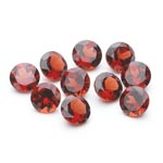 10.40 Cts 6 mm AAA Round Mozambique Garnet 10 pcs Loose Gemstones