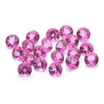 11.47 Cts of 5 mm AA Round Mystic Pink Topaz ( 20 pcs ) Loose Gemstones