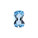0.51-0.62 Cts of 6.0x4.0 mm AAA Cushion Cut Sky Blue Topaz ( 1 pc ) Loose Gemstone