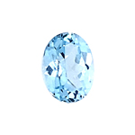 1.35-1.64 Cts of 8.0x6.0 mm AAA Oval Cut Sky Blue Topaz ( 1 pc ) Loose Gemstone