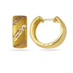 Snuggable Earrings in 14K Yellow Gold