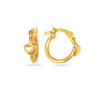 Childrens Earrings in 14K Yellow Gold