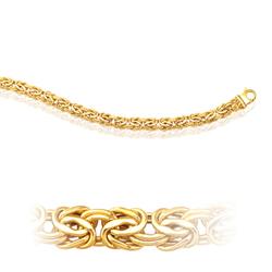 Byzantine Bracelet in 14K Yellow Gold