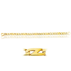 Men's Bracelet in 14K Yellow Gold