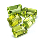 6x4 mm-2.07 Cts Peridot ( Emerald-AA )