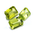 7x5 mm-3.30 Cts Peridot ( Emerald-AA )