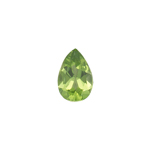 0.41-0.46 Cts of 6x4 mm AA Pear Cut Peridot Loose Gemstone