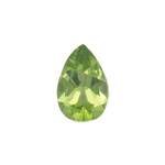 9x6 mm-1.25 Cts Peridot ( Pear-AA )