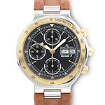 Baume & Mercier Watch in Steel & 18K Yellow Gold
