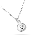 Childrens Jewelry - 0.01 Cts  SI2 - I1 clarity and I-J color Genuine Diamond Accented Football Pendant in 925 Sterling Silver - After Christmas Sale