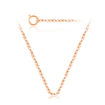 Singapore Chain in 14K Rose Gold -18 inches