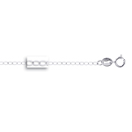 Piatto Chain in 14K White Gold -18 inches