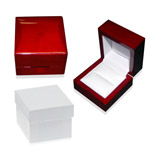 Ring Cherry Wood Jewelry Box