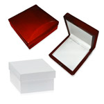 Pendant Cherry Wood Jewelry Box