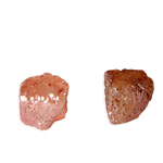 0.87 Cts Rough Natural Loose Diamond - Red-Pink Hues