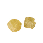 0.80 Cts Natural Yellow Color ( 2 pcs ) Loose Rough Diamond