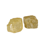 0.62 Cts Rough Natural Loose Diamond - Yellow Color