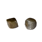 0.88 Cts Rough Natural Loose Diamond - Olive Green-Dark Grey Hues