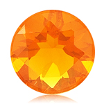 2.35 Cts of 10 mm AA Round Brazilian Fire Opal ( 1 pc ) Loose Gemstone
