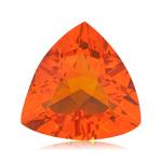 5.95 Cts of 15 mm AA Trillion Brazilian Fire Opal ( 1 pc ) Loose Gemstone