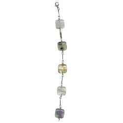Semi Precious Stones Bracelet in Silver - Christmas Sale