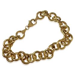Turkish Fine Gold Bracelet in 14K Yellow Gold