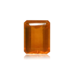 1.50-1.60 Cts of 8.3x6.4x4.9 mm AAA Emerald-Cut Loose Brazilian Fire Opal ( 1 pc ) Loose Gemstone