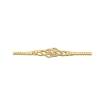 1/10 Ct Diamond Bracelet in 14K Yellow Gold