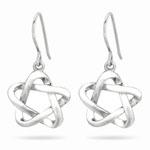Fancy Earrings in Sterling Silver