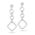 Fancy Earrings in Sterling Silver