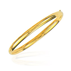 5 mm Classic Bangle in 14K Yellow Gold