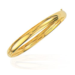 6 mm Classic Bangle in 14K Yellow Gold