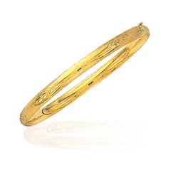 Classic Bangle in 14K Yellow Gold