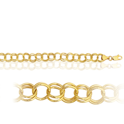 Lite Charm Bracelet in 14K Yellow Gold