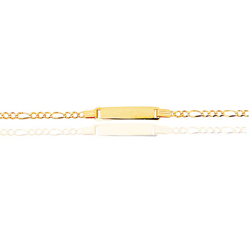 Prince Childrens Bracelet in 14K Yellow Gold