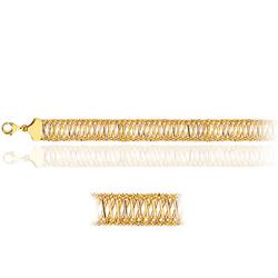 Balinese Bead Bracelet in 14K Yellow Gold