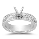 Engagement Ring Setting - 2/3 Ct Diamond Engagement Ring Setting