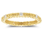 Diamond Ring - 0.29 Ct Diamond Ring in 18K Yellow Gold