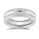 Eternity Band - 1.15 Ct Diamond Eternity Band