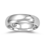 3.0-4.5 mm Men's Comfort-Fit Classic Wedding Band in Platinum