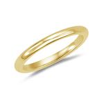 Wedding Band - 18K Yellow Gold 2.5 mm Comfort-Fit Wedding Band - Christmas Sale