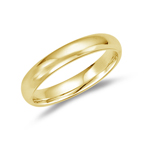 4 mm Comfort-Fit Wedding Band in 18K Yellow Gold