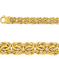 Byzantine Bracelet in 14K Yellow Gold