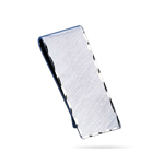 Florentine Engine Turned Money Clip in Sterling Silver