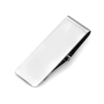 Hinged Money Clip in Sterling Silver