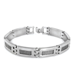 Men's Net Bracelet in Stainless Steel