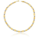 Royal Pave Chain in 14K Two Tone Gold
